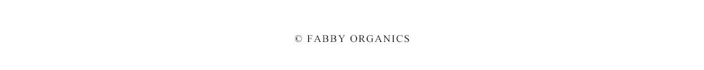 FABBY ORGANICS