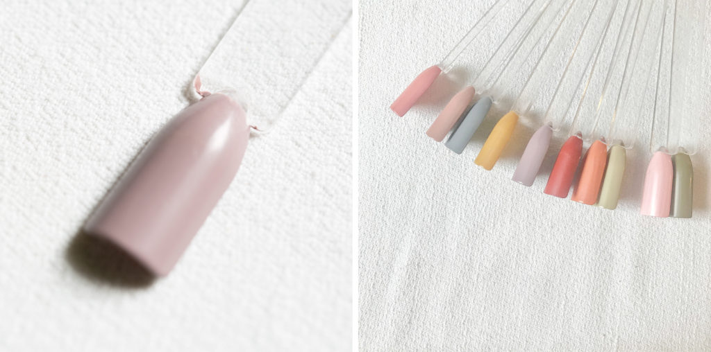 古代ネイル KODAI natural nail color #ちちあずき