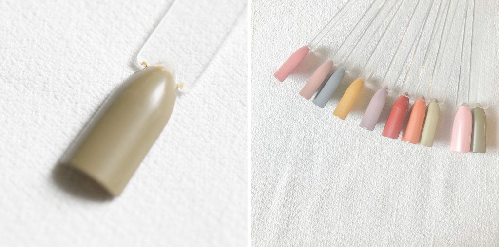 古代ネイル KODAI natural nail color #くさみどり