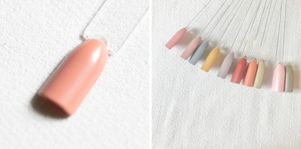 古代ネイル KODAI natural nail color #はなさんご
