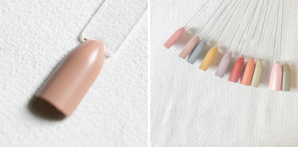 古代ネイル KODAI natural nail color #はだか