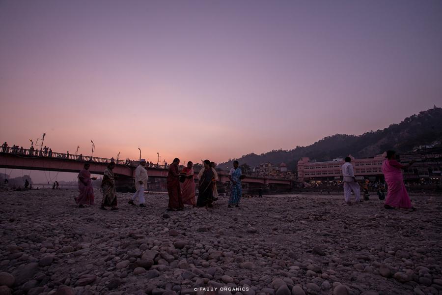 Henna Journey Across INDIA ヘナ・インドへの旅路 ハリドワール Shirodhara プージャ ガンガー